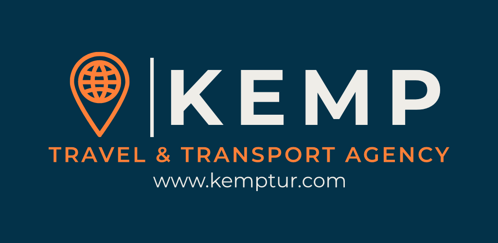 Kemp Travel Transport Agency Logo